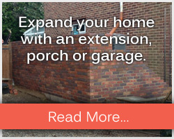 Expand your home with an extension, porch or garage