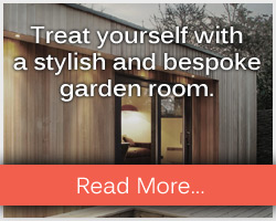 Treat yourself to a stylish and bespoke garden room from DNA builders