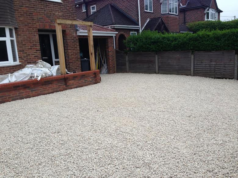 Driveway with Disabled Ramp, Bourne End, Bucks