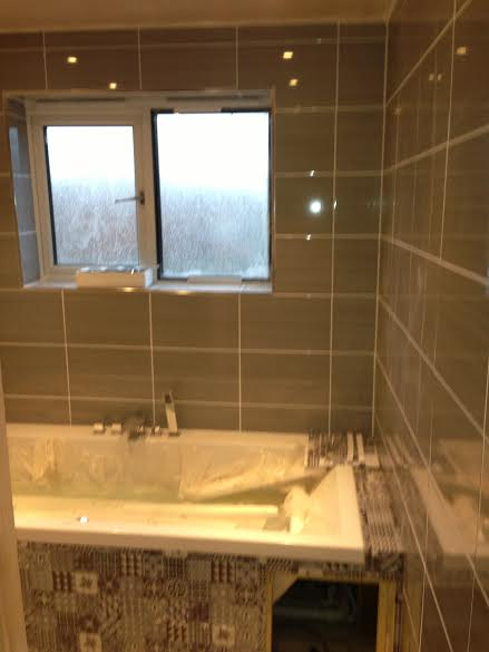 Modern bathroom update in Thame