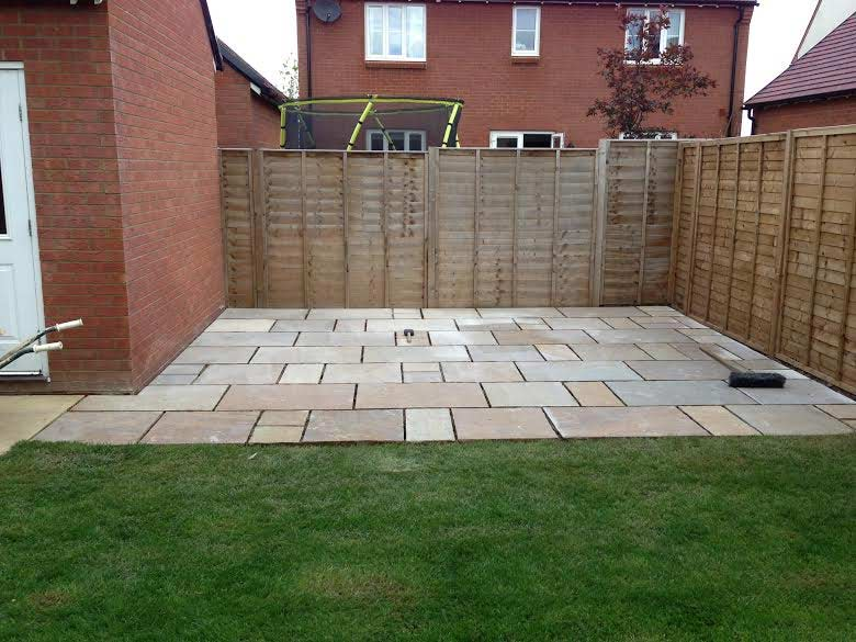 Patio in Haddenham, Buckinghamshire