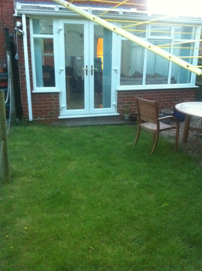 Patio Area - Aylesbury