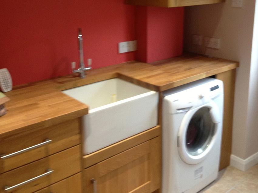 Bespoke utility room thame dna builders thame for Utility rooms uk