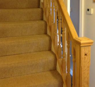 Oak Spindles and Bannisters - Thame