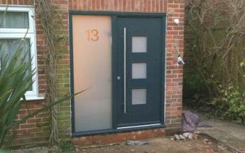 New front door and patio in Bourne End, Buckinghamshire